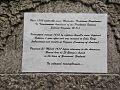 Unburial of Pocahontas. Detail-plaque.jpg