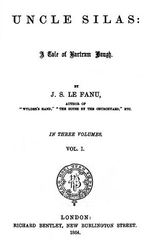 Uncle Silas - First edition title page