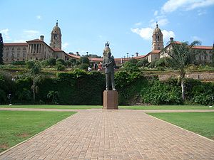 Pretoria - The Union Buildings, seat of South Africa's government
