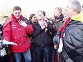 United Belgium Brussels demonstration 20071118 DMisson 00116 parc Cinquantenaire ULB students singing Brabancone.jpg
