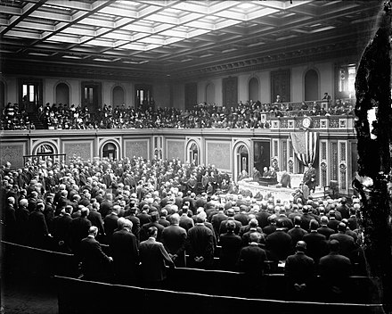 United States Congress meeting, c. 1915 United States Congress circa 1915.jpeg