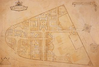 University of Pretoria -  University of Pretoria Main Campus master plan in 1930