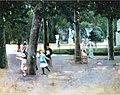 Uotila, Kevättä Tuileries'n puistossa.jpg