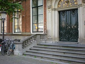 Utrecht University School of Economics - USE old address (Janskerkhof)