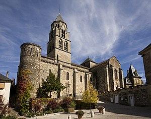 Corrèze - Image: Uzerche, Église Saint Pierre PM 18517
