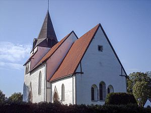 Väskinde - Väskinde Church