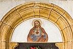 Völkermarkt Sankt Georgen am Weinberg Pfarrkirche hl. Georg Portal Tympanon 03012019 5845.jpg