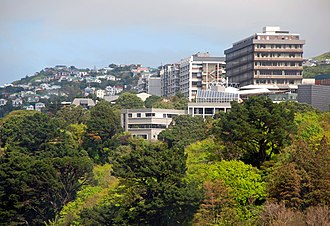 Wellington City Council - Victoria University of Wellington, Kelburn campus