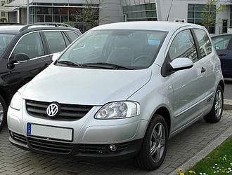 Volkswagen Fox - Image: VW Fox Style front 20100425