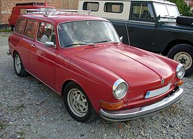 Image illustrative de l'article Volkswagen Type 3 : Notchback, Fastback, Variant