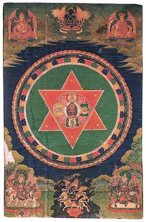 Samding Dorje Phagmo - Vajravarahi mandala