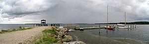 Valdemar's Castle - Ferry dock