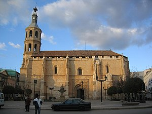 Valdepeñas - Valdepeñas Spain Church of Assumption