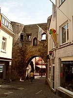 Valkenburg, town gate