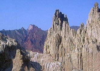 "Pedro Domingo Murillo Province - Valle de la Luna (""Moon Valley"")"