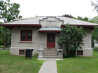Valley Falls, New York - Valley Falls free library.