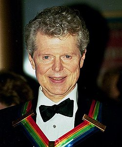 Van Cliburn a Kennedy Center Honorsszal