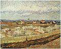 """Van Gogh - Die Ebene """"La Crau"""" bei Arles mit blühenden Pfirsichbäumen.jpg"""
