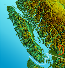 Vancouver Island-relief DouglasRanges.png