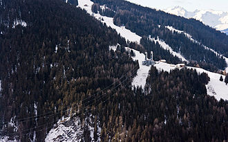 Vanoise Express - Vanoise Express (view from Peisey-Vallandry)