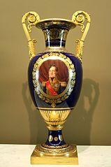 Vase avec portrait de Louis-Philippe