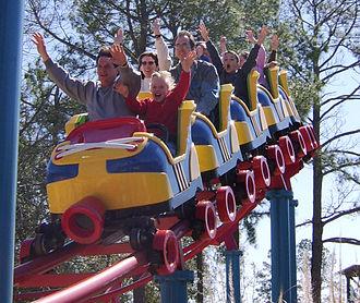 Wild Adventures - Ant Farm Express Roller Coaster