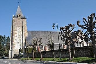 Verton - The St. Michel Church in Verton