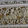 Vertrek 0.19 (balzaal) Interieur, detail- klein gedeelte van een reliëf voorstelling - Haarzuilens - 20381135 - RCE.jpg