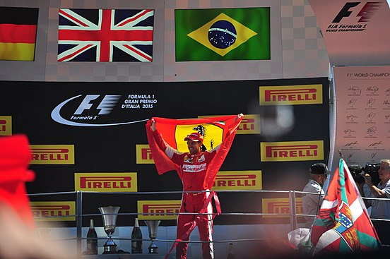 Vettel parties like he had won the race (21454153146)