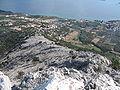 Vižanica-pogled niz JI-padinu 1166.jpg