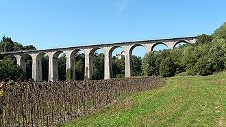 Saint-Marcellin, Isère - Railroad viaduct