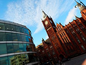University of Liverpool - The centrepiece of the University estate, the Victoria Building