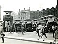 Victoria bus station in London 1927.jpg