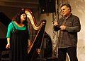 Vienna 2013-11-21 Porgy+Bess - RAU sound recording, Natasha Felber-Armakan, Shamal Amin.jpg