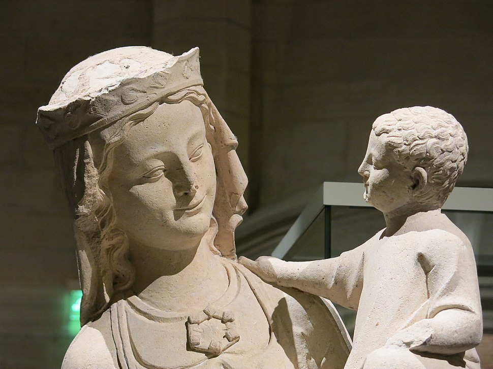 Vierge à l'Enfant (Compiègne, 1267) 2