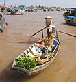 Vietnamese vegetable seller - Flickr - exfordy.jpg