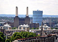 View from Westminster Cathedral 2011 Battersea Power Station and Gasometer.jpg