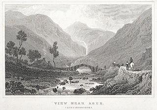 View near Aber: Caernarvonshire