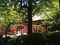 View of Inari Shrine (No.2 of Okunomiya 8 Shrines) in Miyajidake Shrine.JPG