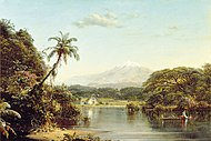 View on the Magdalena River Frederic Edwin Church.jpg