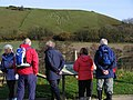 Viewing the Cerne Giant at Cerne Abbas - geograph.org.uk - 1593653.jpg