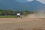 Viking DHC-6 Twin Otter Aurora Airlines takeoff in Preobrazheniye.jpg