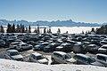 Villach Dobratsch Rosstratte Parkplatz mit Blick nach Sueden 13022015 9771.jpg