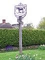 Village sign, Stedham - geograph.org.uk - 1271671.jpg