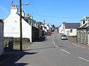 Street scene in Kirkcowan