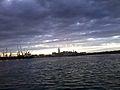 Ville de Casablana au coucher du soleil sous les nuage.jpg