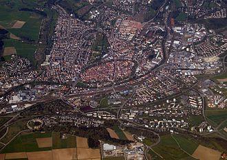 Villingen-Schwenningen - View of Villingen