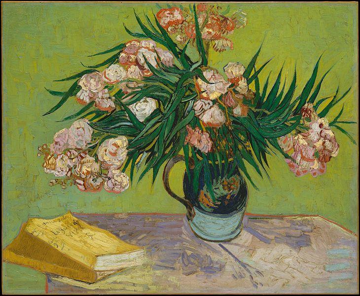 File:Vincent van Gogh - Oleander.jpg