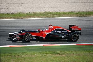 Virgin MVR-02 Glok 2011 Spanish GP.jpg