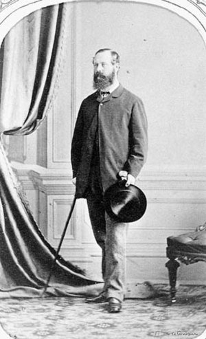 Charles Monck, 4th Viscount Monck - The Viscount Monck in 1868